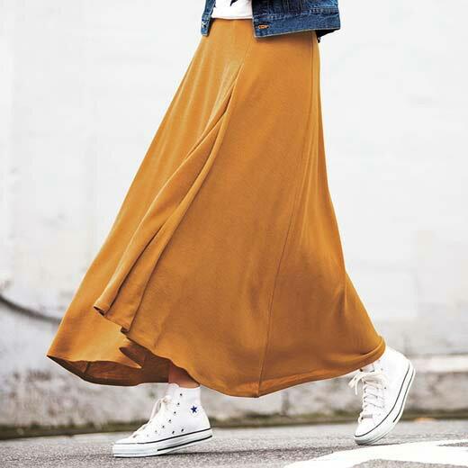 ●SALE!!セール●イレギュラーヘムマキシスカート ベルーナ ミセス 女性 30代 40代 ファッション レディース 在庫処分 アウトレット