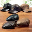 帽子 <ゴールデンベア>本革デザイン帽子 単品 ベルーナ 40代 50代 60代 メンズ 紳士 レディース ファッション 秋 …