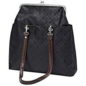 かばん A4対応がま口トートバッグ ベルーナ 40代 50代 60代 レディース ミセス ファッション ラナン Ranan 春 春服 大人 かばん バッグ 鞄