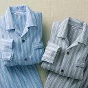 パジャマ S M L LL 3L 【2着組】日本製ふんわり柔らかニットキルトパジャマ(S〜3L) ベルーナ Belluna 40代 50代 60代 メンズ 紳士 ミセス 大人 ファッション 春 春服 パジャマ ルームウェア