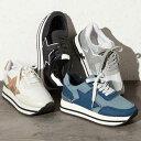 シューズ S(22.5cm) M(23.5cm) L(24.5cm) LL(25.0cm) スターデザイン厚底スニーカー(S(22.5cm)〜LL(25.0cm)) ベルーナ 40代 50代 60代 レディース ミセス ファッション Ranan ラナン 夏 夏服 シューズ 靴