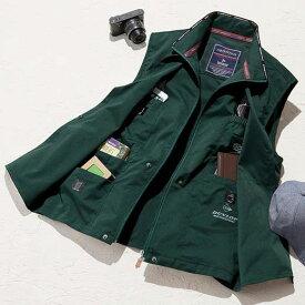【在庫残りわずか】ベスト S M L LL 3L <ダンロップ・モータースポーツ>お出かけ自慢の快適ベスト(S〜3L) ベルーナ 40代 50代 60代 メンズ 紳士 大人 ファッション 夏 夏服 アウター 羽織