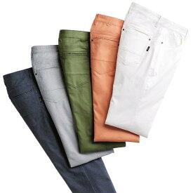 カジュアルパンツ S M L LL 3L キレイが続く清潔スーパーストレッチパンツ(S〜3L) ベルーナ 40代 50代 60代 メンズ 紳士 大人 ファッション 春 春服 メンズライフ カジュアル パンツ