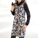 デザインプリントジャンパースカート ベルーナ レディース ファッション