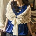 シャーリングデザインショール ベルーナ べるーな 30代 ファッション レディース アウトレット【再販売】【フォーマルセール】 ランキングお取り寄せ