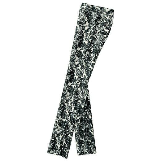 【クーポン配布中】●SALE!!セール●らくしてすっきりプリントパンツ ベルーナ ルフラン 40代 50代 60代 レディース 女性 ミセス ファッション 再販売 タイムセール アウトレット 在庫処分