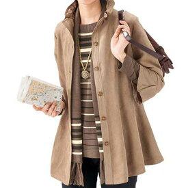【3点セット】ストール付3点セットアンサンブル(M〜LL) ベルーナ ルフラン 【40代 50代 60代 レディース ミセス ファッション】 秋 冬