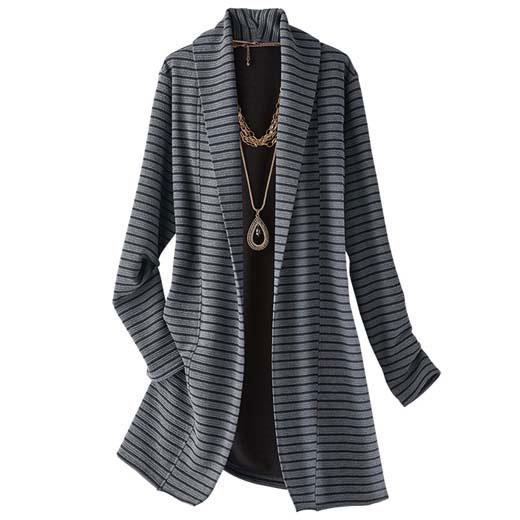 リップルボーダーデザインジャケット ベルーナ 秋 ベルーナ ラナン Ranan 30代 40代 50代 ファッション アウトレット 秋 冬 タイムセール 再販売