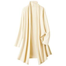 ●アウトレット●ダブルフェイスカーディガン ベルーナ ルフラン40代 50代 60代 レディース 女性 ミセス ファッション 秋 冬 カーデ アウトレット 在庫処分 在庫限り