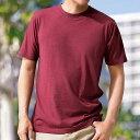 何枚あっても便利!ベーシックTシャツ(3L〜5L) ベルーナ べるーな 40代 50代 60代 メンズ 紳士 男性 ファッション 綿 夏 大きいサイズ 何枚あっても便利!ベーシックTシャツ(3L〜5L