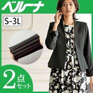 洗える!ストレッチ素材花柄ワンピースアンサンブル(7AR〜17AR)ベルーナ40代50代60代レディースミセスファッション
