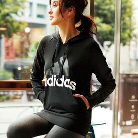 チュニックS M L <adidas>スウェットパーカー ベルーナ ラナン Ranan 30代 40代 ファッション レディース 女性チュニック レディース 女性 adidas アディダス スポーツブランド 体型カバー #sport 小さいサイズ