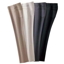 【4本組】らくフィット美脚パンツ(3L〜4L) ベルーナ ルフラン 40代 50代 60代 レディース 女性 ミセス ファッション 大きいサイズ