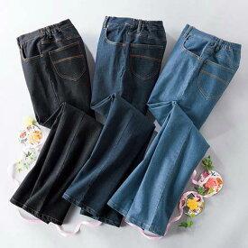 【3本組】ミセスシリーズお買得デニム(3L〜6L) ベルーナ ルフラン 40代 50代 60代 レディース 女性 ミセス ファッション 大きいサイズ