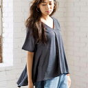 ブラウス M LL Lさらり楊柳風プルオーバー(M〜LL) ベルーナ ラナン Ranan 夏 30代 40代 ファッション レディース 女性…