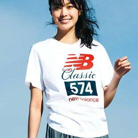 カットソー XS S M <new balance>クラシック574 Tシャツベルーナ ラナン Ranan 夏 レディース 30代 40代 ファッション カットソー 小さいサイズ