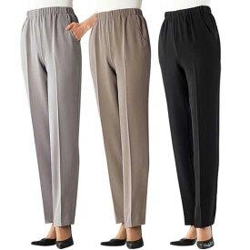 【3本組】日本製華やぎ重宝パンツ(3L〜5L) ベルーナ ルフラン 40代 50代 60代 レディース 女性 ミセス ファッション 大きいサイズ