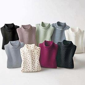 カットソー 春 5L 4L 3Lサイズ<ベルホットコットン>肌に優しい綿100%暖か発熱素材プルオーバー(3L〜5L) ベルーナ 40代 50代 60代 レディース ミセス ファッション 大きいサイズ