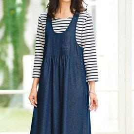 744d20ac78d0a ジャンパー 春 5L 4L 3Lサイズ綿100%素材ジャンパースカート(3L〜5L