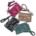 かばんたっぷり7ポケットポシェットバッグ ベルーナ Ranan ラナン 夏 夏服 30代 40代 ファッション レディース かばん バッグ 鞄 黒 ブルー グレー