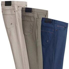 【在庫残りわずか】パンツ 88cm 85cm 82cm 79cm 76cm【3本組】<コムルヴァン・オム>きれいに見える快適コットン混パンツ(ウエスト76cm〜ウエスト88cm) ベルーナ 40代 50代 60代 メンズ 男性 紳士 ファッション 夏服 パンツ ズボン