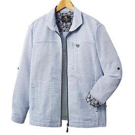ジャケット S M LL L 3L<パトリチオ フランチェスカ>さらっと涼やか軽量シャツジャケット ベルーナ 40代 50代 60代 メンズ 男性 紳士 ファッション 夏服 ジャケット アウター 小さいサイズ