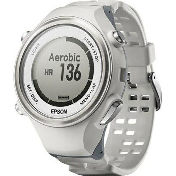 【エプソン】 WristableGPS(リスタブルGPS) SF-850PW 脈拍計測・活動量計機能搭載GPSウォッチ [カラー:ホワイト] #SF850PW 【スポーツ・アウトドア:スポーツ・アウトドア雑貨】【EPSON】