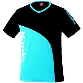【ニッタク】 カールTシャツ 卓球ウェア [カラー:ブルー] [サイズ:L] #NX-2078-09 【スポーツ・アウトドア:卓球:ウェア:メンズウェア:シャツ】【NITTAKU】