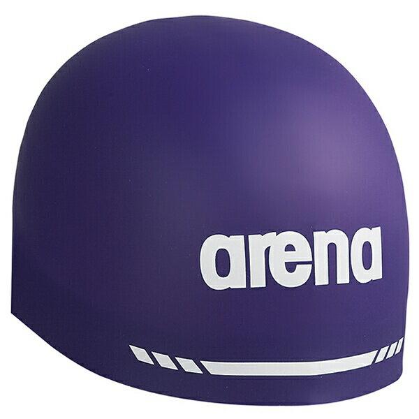 【アリーナ】 シリコンキャップ AQUAFORCE 3D SOFT [カラー:パープル] [サイズ:M(50〜55cm)] #ARN-5400-PPL 【スポーツ・アウトドア:スポーツ・アウトドア雑貨】【ARENA】