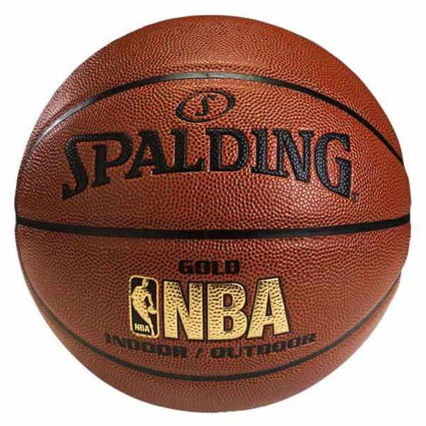 【スポルディング】 GOLD(ゴールド) レザ— バスケットボール 5号球 #74-613Z 【スポーツ・アウトドア:スポーツ・アウトドア雑貨】【SPALDING】