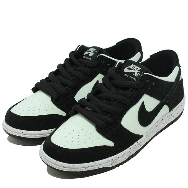 【ナイキ】 ナイキ SB ズーム ダンク ロ— プロ [サイズ:26.5cm(US8.5)] [カラー:ブラック×ベアリィグリーン] #854866-003 【靴:メンズ靴:スニーカー】【854866-003】【NIKE NIKE SB ZOOM DUNK LOW PRO BLACK/BLACK-BARELY GREEN-WHITE】