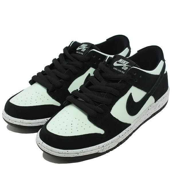 【ナイキ】 ナイキ SB ズーム ダンク ロ— プロ [サイズ:27cm(US9)] [カラー:ブラック×ベアリィグリーン] #854866-003 【靴:メンズ靴:スニーカー】【854866-003】【NIKE NIKE SB ZOOM DUNK LOW PRO BLACK/BLACK-BARELY GREEN-WHITE】
