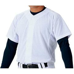 【ゼット】野球用練習着ユニフォームメッシュフルオープンシャツ[サイズ:2XO][カラー:ホワイト]#BU1181MS-1100【スポーツ・アウトドア:スポーツ・アウトドア雑貨】【ZETT】