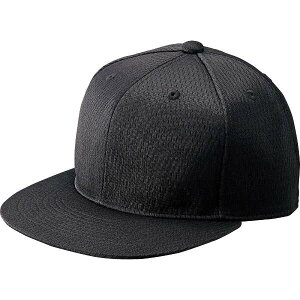 【ゼット】 野球キャップ 六方 平ツバキャップ [サイズ:O(59-60cm)] [カラー:ブラック] #BH181-1900 【スポーツ・アウトドア:野球・ソフトボール:ウェア:競技用野球帽】【ZETT】