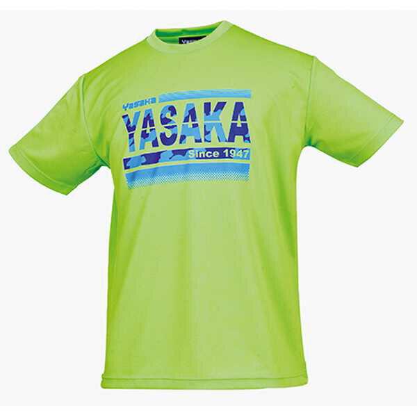【ヤサカ】 カモグラTシャツ(男女兼用) [サイズ:M] [カラー:ライム] #Y850-57 【スポーツ・アウトドア:その他雑貨】【YASAKA】
