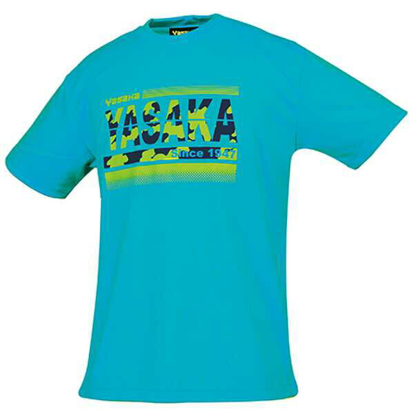 【ヤサカ】 カモグラTシャツ(男女兼用) [サイズ:M] [カラー:ターコイズ] #Y850-62 【スポーツ・アウトドア:その他雑貨】【YASAKA】