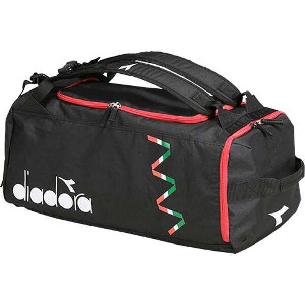【ディアドラ】 CSC 3WAYバッグ [カラー:ブラック] [サイズ:55×28×25cm] #DFB8604-99 【スポーツ・アウトドア:アウトドア:バッグ】【DIADORA】
