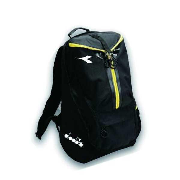 【ディアドラ】 TEAM バックパック [カラー:ブラック] [サイズ:30×50×20cm] #DFB8606-99 【スポーツ・アウトドア:アウトドア:バッグ:バックパック・リュック】【DIADORA】