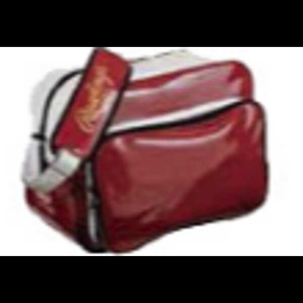 【ローリングス】 エナメルショルダーバッグ [カラー:エンジ] [サイズ:L44×H33×W23cm(34L)] #BAGES-ENJ 【スポーツ・アウトドア:スポーツ・アウトドア雑貨】【RAWLINGS】