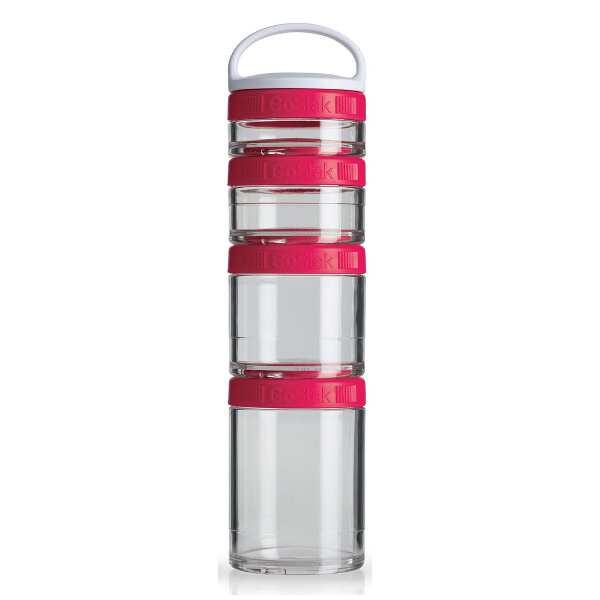 【ブレンダーボトル】 ブレンダーボトル ゴースタック スターター4パック [カラー:ピンク] #BBGSS4P-PK 【スポーツ・アウトドア:フィットネス・トレーニング:スポーツ器具】【BLENDER BOTTLE Blender Bottle GoStak Starter 4Pack】