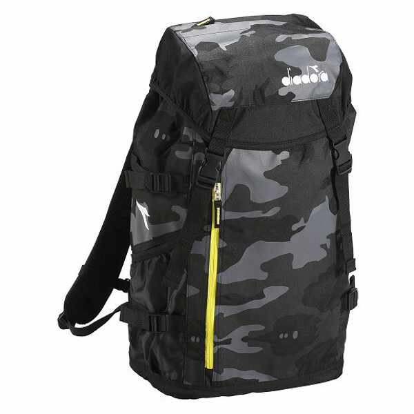 【ディアドラ】 RBバックパック [カラー:ブラックカモ] [サイズ:31×18×50cm] #DFB8600-99C 【スポーツ・アウトドア:アウトドア:バッグ:バックパック・リュック】【DIADORA】