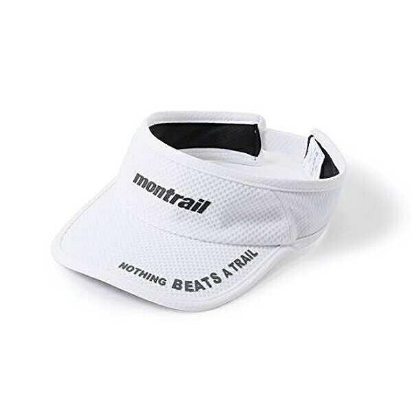 【モントレイル】 NOTHING BEATS A TRAIL ランニングバイザ— [カラー:ホワイト] #XU1088-100 【スポーツ・アウトドア:アウトドア:ウェア:メンズウェア:帽子】【MONTRAIL】