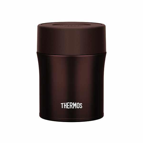 【サーモス】 真空断熱スープジャ— JBM502 [容量:500ml] [カラー:チョコ] #JBM-502-CHO 【キッチン用品:お弁当グッズ:お弁当箱:保温機能付き】【THERMOS】