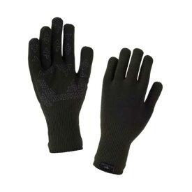 【シールスキンズ】 ウルトラグリップグローブ(完全防水・防風) [サイズ:L] [カラー:ダークオリーブ] #12167UGG01-301DO 【スポーツ・アウトドア:アウトドア:ウェア:メンズウェア:手袋】【SEALSKINZ】