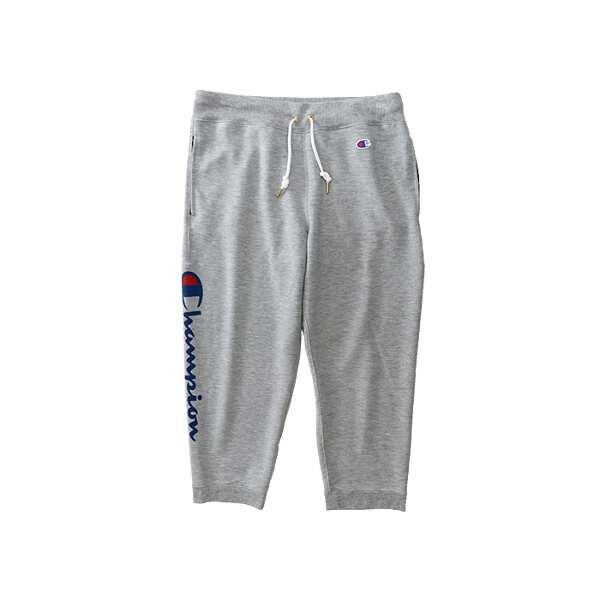 【チャンピオン】 7分丈 スウェットパンツ [サイズ:L] [カラー:オックスフォードグレー] #CW-MS211-070 【スポーツ・アウトドア:アウトドア:ウェア:メンズウェア】【CHAMPION 3/4 LENGTH SWEAT PANTS】