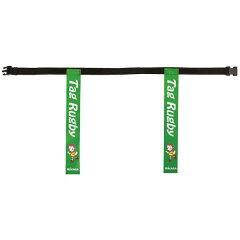 【ミカサ】タグラグビー用タグベルト(90cm)[カラー:ライトグリーン]#TRTG90-LG【スポーツ・アウトドア:ラグビー】【MIKASA】