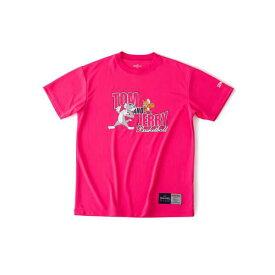 【スポルディング】 Tシャツ トム&ジェリ— [サイズ:M] [カラー:ピンク] #SMT190580 【スポーツ・アウトドア:バスケットボール:ウェア:レディースウェア:プラクティスシャツ】【SPALDING】