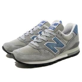 【割引クーポン有】 【送料無料】 ニューバランス M996ABC [カラー:グレー×ライトブルー] [サイズ:29cm (US11) Dワイズ] 【ニューバランス: 靴 メンズ靴 スニーカー】【NEW BALANCE New Balance M996】