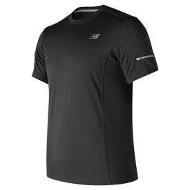 【ニューバランス】 ランニングコア ショートスリーブTシャツ(メンズ) [サイズ:XL] [カラー:ブラック] #MT73916-BK 【スポーツ・アウトドア:その他雑貨】【NEW BALANCE】