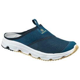 【5%offクーポン(要獲得) 9/20 0:00〜9/23 23:59】 RX スライド 4.0 リカバリー スリッポン [サイズ:26.0cm] [カラー:ポセイドン×ネイビーブレーザー] #L40673100 【サロモン: 靴 メンズ靴 スリッポン】【SALOMON RX SLIDE 4.0】